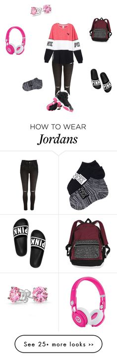 """yasssss"" by princessarii on Polyvore featuring River Island, Victoria's Secret, Beats by Dr. Dre and Bling Jewelry"