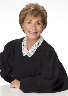 Judy Judy.  Gotta love her.  Common sense, takes no #@$! from anybody!