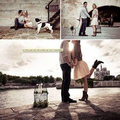 Vintage & Chic {love notes}: para novias poco convencionales: {Una boda (y una sesión previa) con todo el charme parisino...}