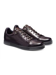 Hand-Buffed Calfskin Sneaker FW16 9896015 | Zegna
