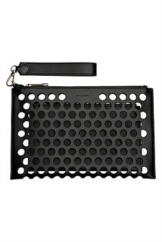 Witchery.149.90.Merika Perforated Clutch Diy Leather Clutch, Leather Handbags, Leather Bag, Boho Bags, Unique Bags, Small Bags, Women's Accessories, Pouch, Product Sketch