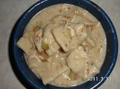 GREAT OLD FASHIONED CHICKEN AND DUMPLINGS Recipe   Just A Pinch Recipes