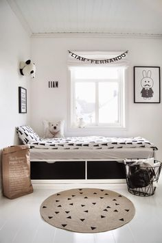 10 chambres d'enfants au look black & white - FrenchyFancy