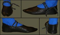 Medieval Clothing and Footwear- Premium Turnshoes