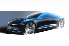 Italdesign Giugiaro GEA Concept - Design Sketch