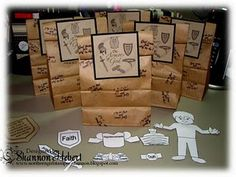 Armor of God story bags