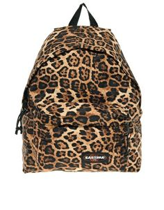 Eastpak Authentic Backpack in Leopard Brown