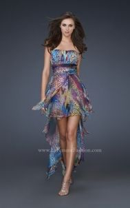 La Femme Prom Dresses - Style 16834