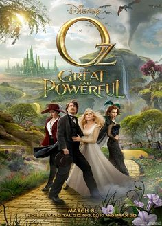 Released movie: Oz the Great and Powerful