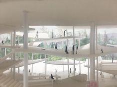 """영대 송 (@brad_dae) on Instagram: """"building is the landscape and a part of environment #architecture #final #thesis #project"""""""