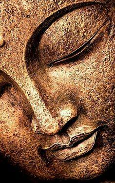 Buddha's face - All For Garden Buddha Canvas, Buddha Wall Art, Buddha Painting, Buddha Garden, Buddha Zen, Buddha Face, Buddha Tattoos, Buddhist Art, Arte Pop