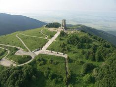Shipka, Bulgaria. The longest set of stairs I've even taken, but the view was worth it. <3