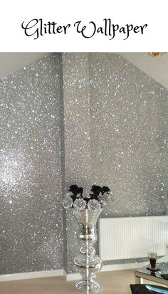 Glitter Fabric Wall Paper ,Bling Wall covering. #Glitterwallpaper #Blingwallcovering Glitter Wall Paper | Bling Wall Covering #amz affiliate