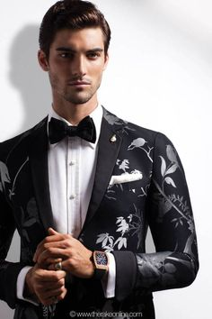 tux jacket Paris style. I would rock it