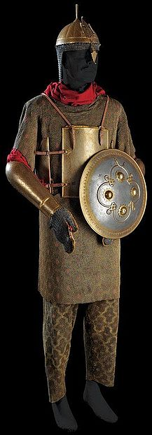 A complete armour with shield, India, century.