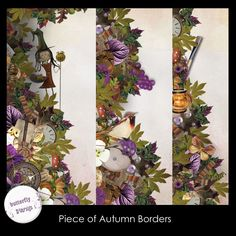 Piece of Autumn borders by butterflyDsign http://www.digitalscrapbookingstudio.com/store/index.php?main_page=product_info&cPath=13_453&products_id=24201