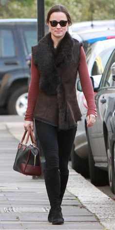 Pippa Middleton's Memorable Style Moments - January 6, 2012 from #InStyle