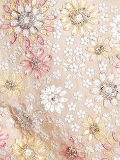 Jeweled fabric