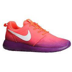 Nike Roshe One - Women's - Running - Shoes - Laser Crimson/Bright Grape/White