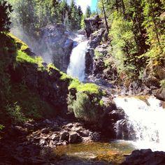 Albus Falls. British Columbia.