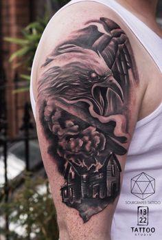 Best representation descriptions: Related searches: Tattoo Designs for Men,Tattoo Drawings for Men,Tattoo Designs for Men Drawings,New Tatt. Tattoo Studio, Tattoo Drawings, 22 Tattoo, Geometric Bear Tattoo, Rising Phoenix Tattoo, Sleeve Tattoos, Neck Tattoos, Throat Tattoo, Taurus Tattoos