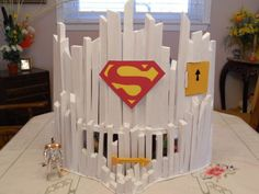 Fortress of Solitude by Mariano Martino Dc Comics Action Figures, Custom Action Figures, Superman And Lois Lane, Batman And Superman, Retro Toys, Vintage Toys, Modern Toys, Dc Universe, Super Powers