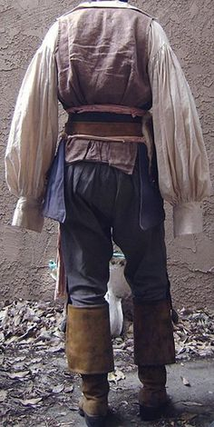 Pirate Shirts, Pirate Clothes, Pirate Outfits, Mode Pirate, Pirate Fashion, Steampunk Fashion, Gothic Fashion, Medieval Clothing, Gypsy Clothing