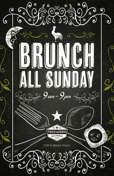 Brunch All Sunday By Rev Pop
