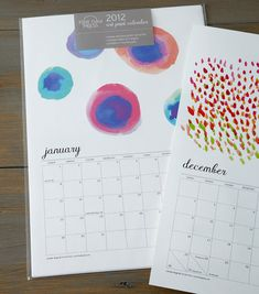 gift! Fine Day Press calendar