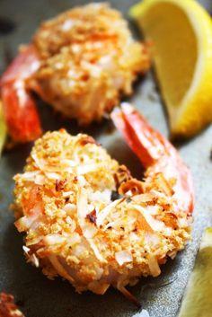 Baked Coconut Shrimp [21 Day Fix]