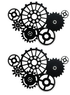 silhouette art | shifting gears large silhouette shifting gears silhouette by candy ... 741.999