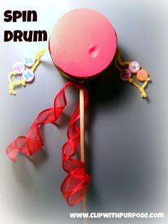 make your own spin drum (easy, cheap tutorial) by Clip with Purpose