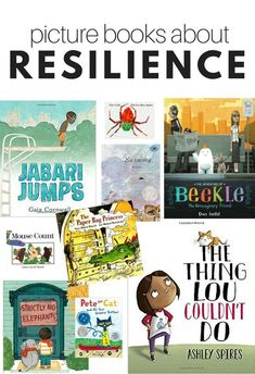Over a dozen great books about resilience for kids in this book list from No Time For Flash Cards. Resilience for kids is vital, these books can help. Over a dozen great books about resilience for k Preschool Pictures, Preschool Books, Montessori Preschool, Social Emotional Learning, Emotional Books, Social Skills, Mentor Texts, Character Education, Art Education