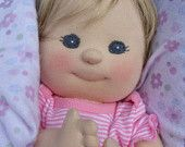 PDF PATTERN - Cloth Baby Doll   (other patterns available)....so cute :)