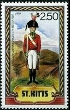 1983 Military Uniforms (2nd series) Stamps