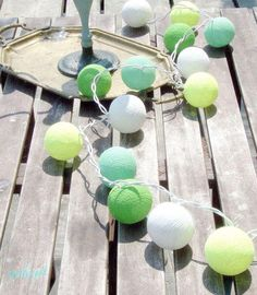 Qule Cotton Balls Light by qule.pl