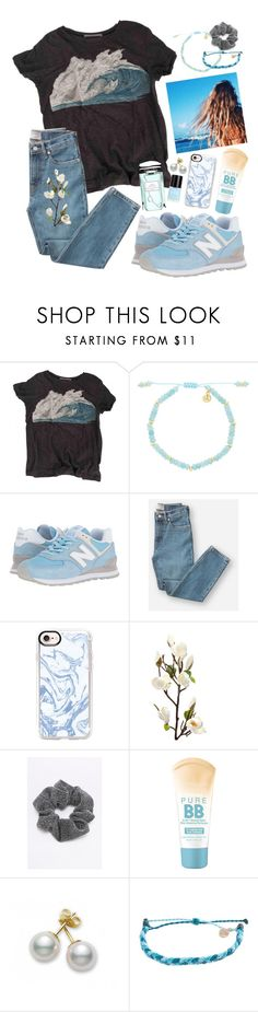 """""""💙You are my blue crayon, the one I never have enough of. The one I use to color my sky💙"""" by maris3456 ❤ liked on Polyvore featuring Proenza Schouler, Crabtree & Evelyn, Lola Rose, New Balance Classics, Everlane, Casetify, Maybelline, Mikimoto, Pura Vida and By Terry"""