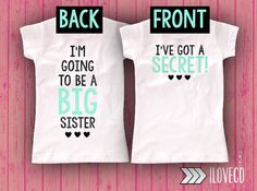 Hey, I found this really awesome Etsy listing at https://www.etsy.com/listing/202195004/im-going-to-be-a-big-sister-onesie-or-t