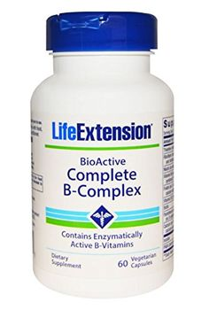 Life Extension Bio Active Complete B Complex  60 Veg Caps -- To view further for this item, visit the image link. (Note:Amazon affiliate link)