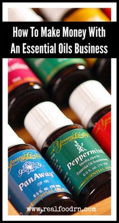 How To Make Money With An Essential Oils Business. Tips, tricks, and how-to's on how to get your essential oil business started up and how to be successful with it. Plus an awesome new business building site. realfoodrn.com