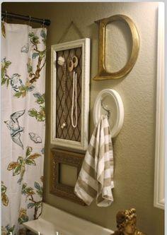 picture wall ideas pinterest | Bathroom wall ideas