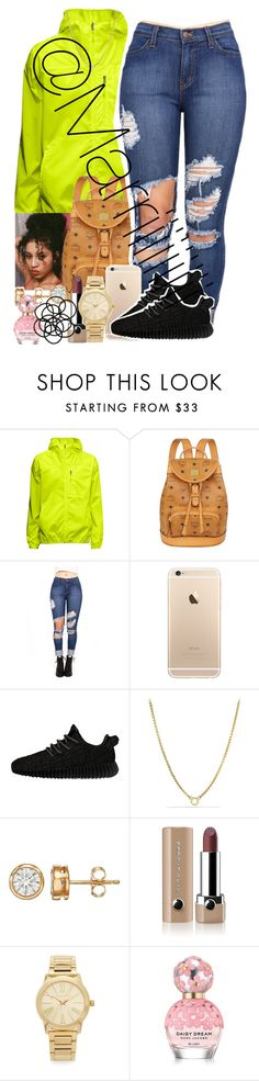 """Honey, i look cute everyday."" by marriiiiiiiii ❤ liked on Polyvore featuring MCM, adidas Originals, David Yurman, Marc Jacobs, Michael Kors and Monki"