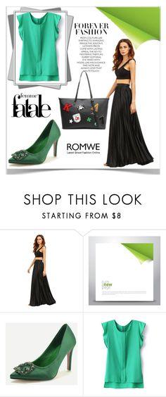 """3#Romwe"" by kiveric-damira ❤ liked on Polyvore"