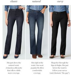 New Jeans line at Coldwater Creek - fits every body type