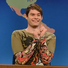 Bill Hader's leaving SNL :( We'll miss you, Stefon!