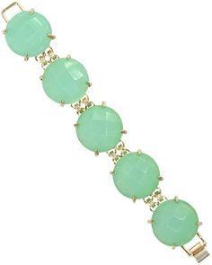 cassie bracelet in chalcedony - kendra scott. want want want!