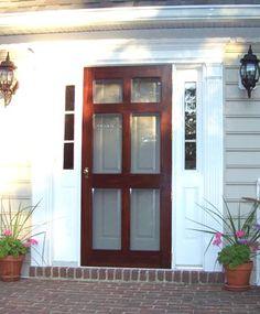 Solid Wood Screen And Storm Doors   Vintage Doors   YesterYearu0027s Vintage  Doors