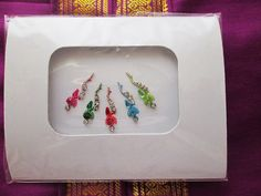 Gorgeous Bindis and  Forehead Jewelry Decorations & by BindisRUs, $5.99