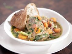 Chicken Stew with Carrots and Leeks