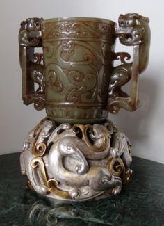 Imperial Grail (Jade, Han Dynasty 206 BC--220 AD)